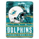 """Officially Licensed NFL """"Stacked"""" Silk Touch Throw Blanket, 60"""" x 80"""", Multi Color"""