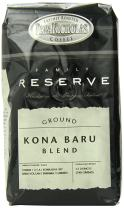 PapaNicholas Coffee Ground Coffee, Family Reserve Kona Baru Blend, 12 Ounce