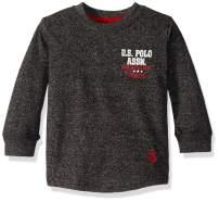 U.S. Polo Assn. Boys' Long Sleeve Back Hit Graphic T-Shirt