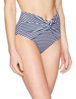 Amazon Brand - Coastal Blue Women's Swimwear High Waist Bikini Bottom