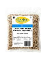 Gerbs Lightly Sea Salted Sunflower Seed Kernels, 4 LBS, Top 14 Food Allergy Free & Grown in USA
