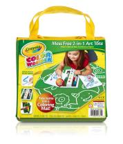 Crayola Color Wonder Mess Free 2-in-1 Art Tote, Mess Free Coloring, Gift for Ages 3, 4, 5, 6
