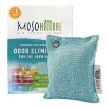 MOSO NATURAL: The Original Air Purifying Bag for The Refrigerator. Fragrance Free, Chemical Free, Long Lasting, Moisture Absorbing Odor Eliminator for Fridges and Freezers. Stronger Than Baking Soda