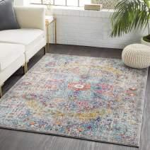 "Artistic Weavers Odelia Area Rug, 3'11"" x 5'7"", Aqua"