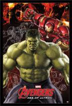 "Trends International Avengers 2 Hulk 2, 22.375"" x 34"""