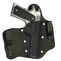 """FoxX Holsters Colt 1911 5"""" Government (No Rail) in The Waistband Hybrid Holster Tuckable, Concealed Carry Gun Holster"""