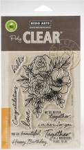 Hero Arts Clear STMP, us:one size, Togetherness Flower Bouquet