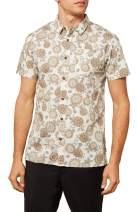 O'NEILL Men's Modern Fit Short Sleeve Button Down Shirt