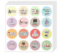 Creanoso Adulting is Hard Stickers (5-Sheet) - Premium Quality Gift Set for Adults - Corporate Giveaways and Party Favors for Any Gatherings