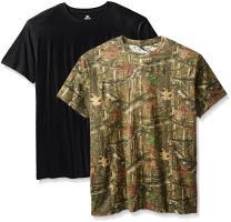 Mossy Oak Men's 2 Pack Crew Neck T-Shirts