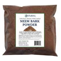 Neem Bark Powder 16ounce-Dental and Digestion Support-Tooth Powder-Pure Neem Bark Powder