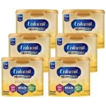 Enfamil NeuroPro Baby Formula Milk Powder Reusable Tub 20.7oz -Brain Building Nutrition Inspired by Breast Milk-Omega 3 DHA, Non-GMO, MFGM, Prebiotics, Iron & Immune Support, 6 Pack (Package May Vary)