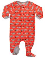 Leveret Fleece Baby Boys Footed Pajamas Sleeper Kids & Toddler Pajamas (3 Months-5 Toddler)