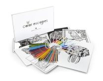 Crayola Color Escapes Coloring Pages & Pencil Kit, Nature Edition