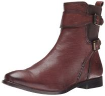 FRYE Women's Anna Gore Short Buffalo Leather Boot