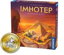 Imhotep Builder of Egypt   Family Board Game by Kosmos   2-4 Players   Ages 10+   Toy of The Year Finalist   Parents Choice Gold Award Winner   Toy Insider Top Holiday Toy   Spiel Des Jahres-Nominated