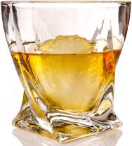 Pair of Whiskey Glasses and Ice Sphere Molds, The Rocks - The Charles, by The Elan Collective