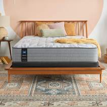 Sealy Posturepedic Spring Silver Pine Ultra Firm Feel Mattress and 5-Inch Foundation, Full