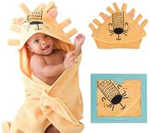 Posh Peanut Baby Hooded Towel – Highly Absorbent Cotton Infant Baby Boy Towel for The House, Beach, Pool – Super Soft Newborn Drying Bath Towel – Great Idea (Lion)