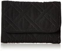 Vera Bradley Women's Microfiber RFID Riley Compact Wallet
