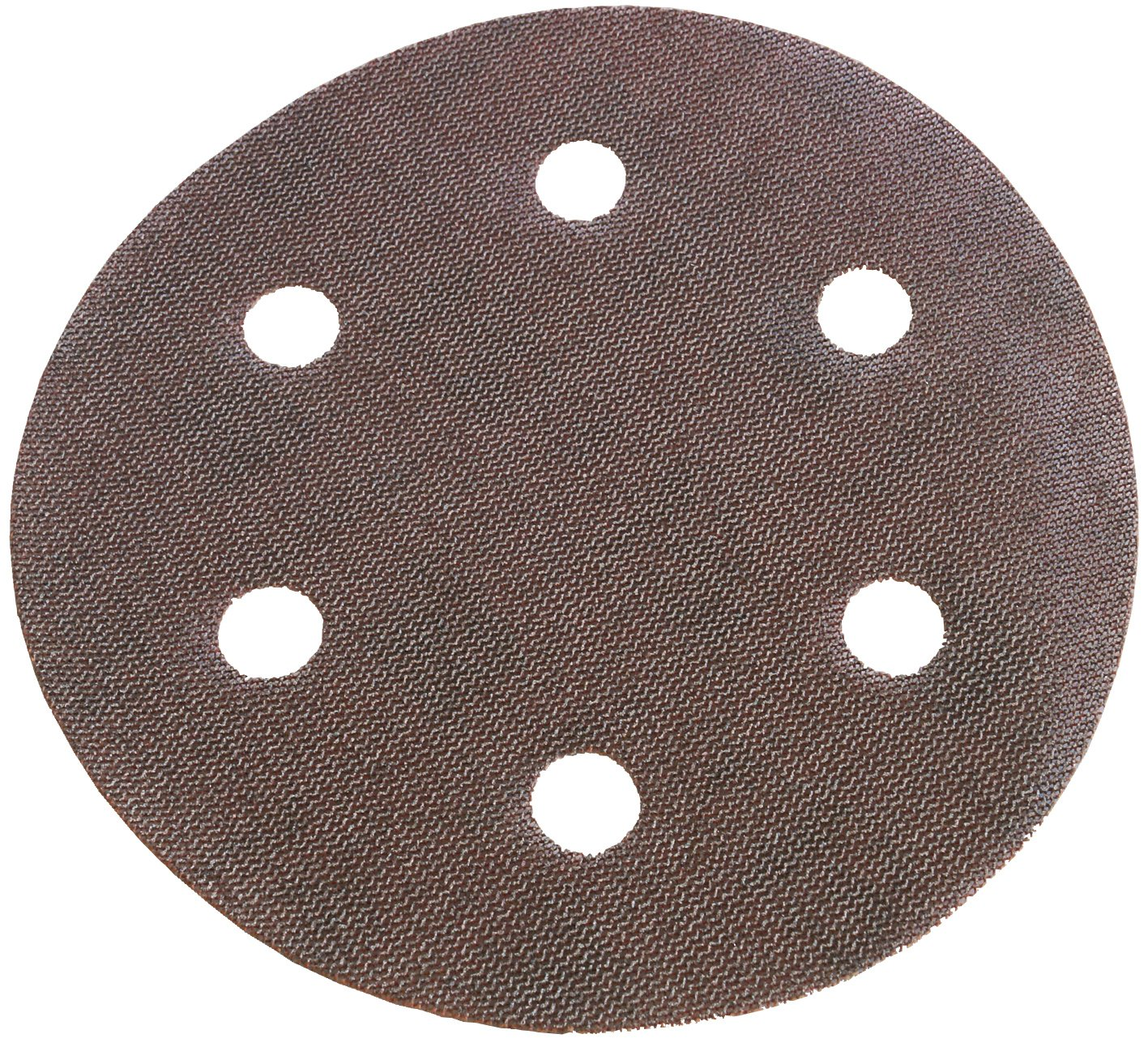 "CS Unitec 37644 9"" Sandpaper, Velcro 6-Hole Punch, 80 Grit Normal Corundum, (Pack of 25)"