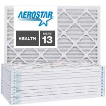 14x14x1 AC and Furnace Air Filter by Aerostar - MERV 13, Box of 12
