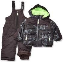 Osh Kosh Baby Boys Ski Jacket and Snowbib Snowsuit Set