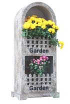Gardenised Decorative Wall or Floor Garden Planter for Indoor or Outdoor Plants