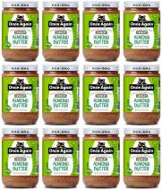 Once Again Organic, Crunchy Almond Butter - Lightly Toasted - Salt Free, Unsweetened - 16 oz Jar - Case of 12