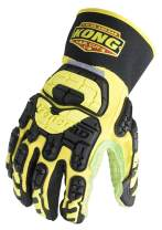 Ironclad KONG SDX2-HAD-05-XL High Abrasion Dexterity Oil and Gas Safety Impact Gloves, X-Large