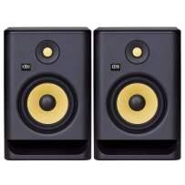 "KRK RP7 Rokit 7 G4 Professional Bi-Amp 7"" Powered Studio Monitor Pair, Black"