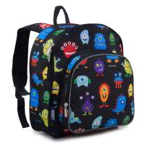 Wildkin Backpack for Toddlers, Boys and Girls Ideal for Daycare, Preschool and Kindergarten, Perfect Size for School and Travel, Mom's Choice Award Winner, Monsters