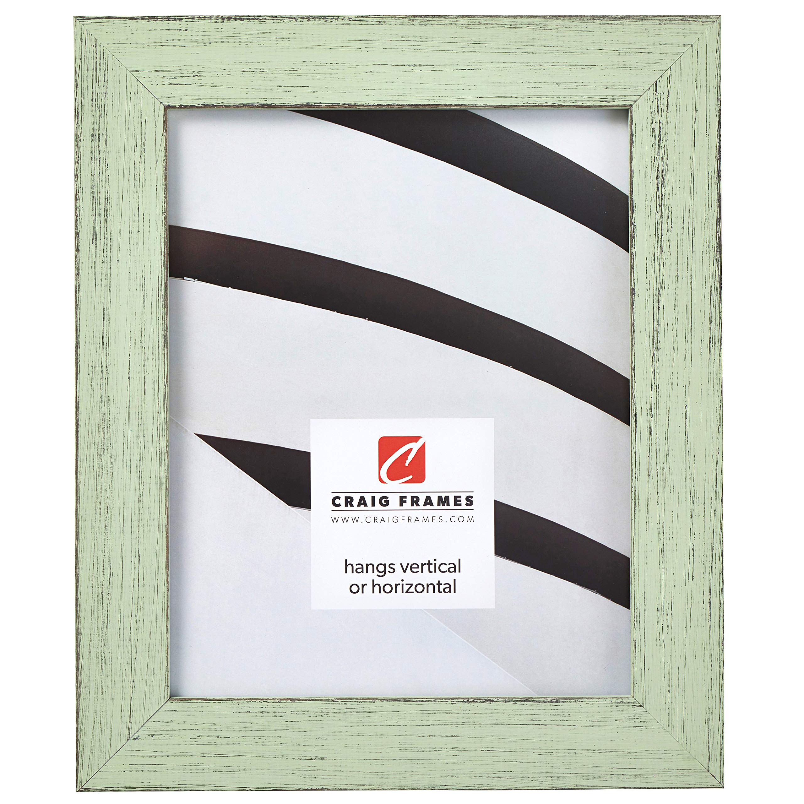 Craig Frames Jasper Picture Frame, 13 x 19 Inch, Country Mint Julep