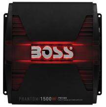 BOSS Audio Systems PM1500 Monoblock Car Amplifier - 1500 Watts, 2/4 Ohm Stable, Class A/B, Mosfet Power Supply, Great for Subwoofers