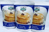 Pancake & Waffle Mix, Gluten free, Organic, verified non-GMO, Kosher, 2.6 lbs (14 ounces x 3)