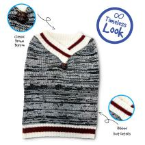 Pet Craft Supply Comfortable, Stylish V-Neck Sweater for All Dogs
