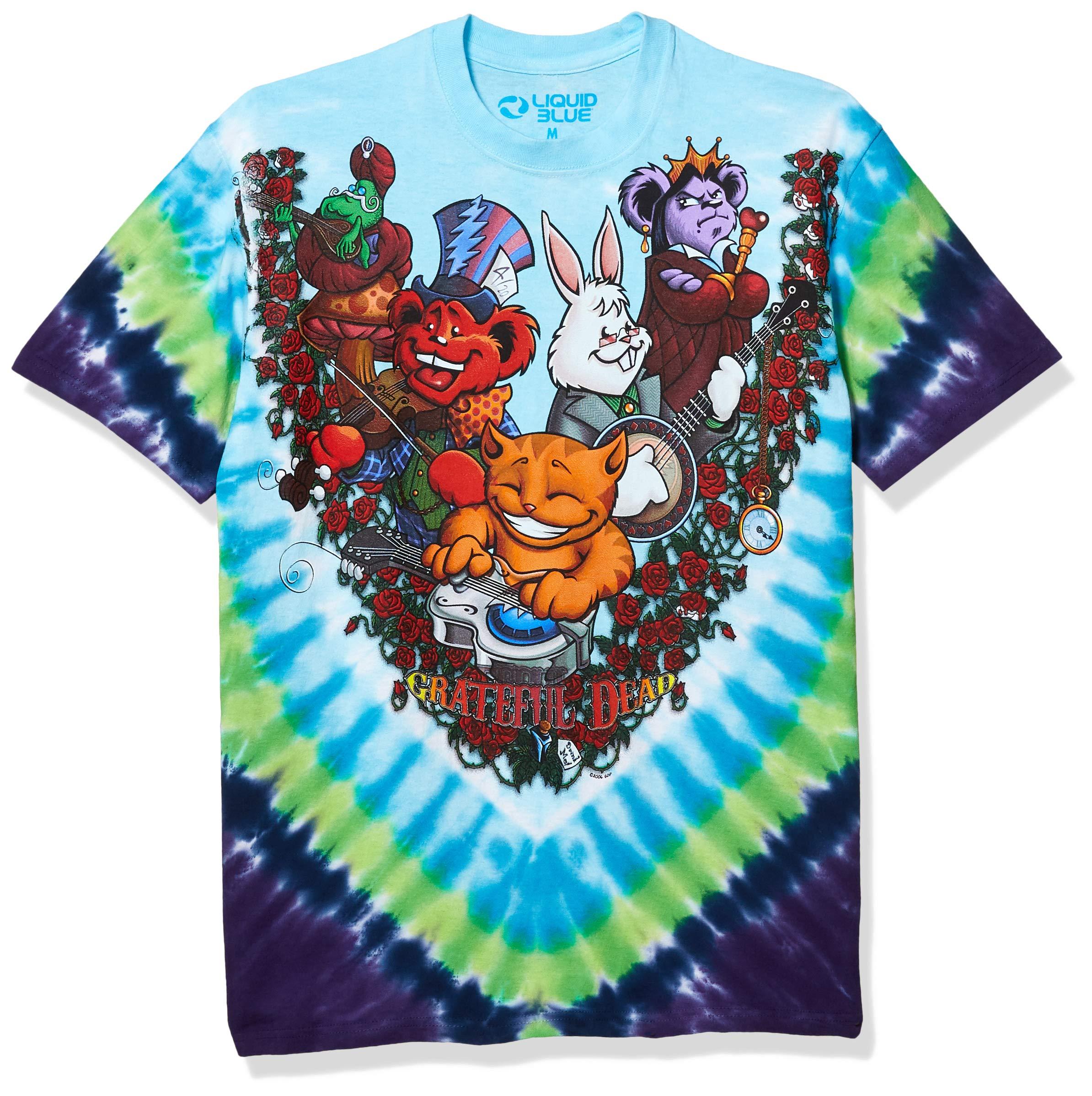 Liquid Blue Men's Wonderland Jamband T-Shirt