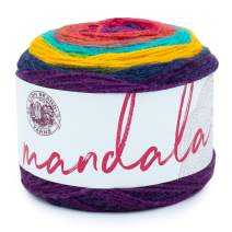 Lion Brand Yarn 525-213 Mandala Yarn, Wizard
