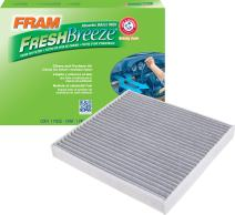 FRAM CF11809 Fresh Breeze Cabin Air Filter with Arm & Hammer