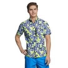 Speedo Mens Uv Swim Shirt Hybrid Button Down