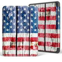 VORI Case for All-New Kindle (10th Generation - 2019 Release Only), Lightweight Protective Smart Shell Cover with Auto Sleep/Wake (Will not fit Kindle Paperwhite or Kindle Oasis), American Flag