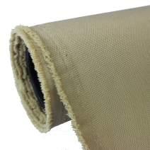 Mybecca Waterproof Canvas Oxford Polyester Fabric Khaki Sand (5 Yards)