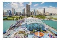 Chicago, Illinois - Navy Pier 9000067 (19x27 Premium 1000 Piece Jigsaw Puzzle, Made in USA!)