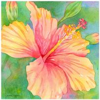 Thirstystone Occasions Trivet, Hibiscus Garden, Multicolor