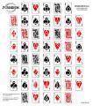 DOMAGRON Deck of Cards Poker Shooting Target (100 Pack)