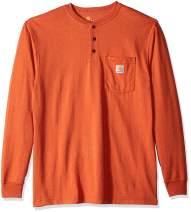 Carhartt Men's Workwear Pocket Long Sleeve Henley Shirt