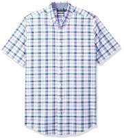 Nautica Men's Big and Tall Short Sleeve Casual Button Down Shirt