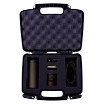 CASEMATIX Protective Hard Camera Case with Custom Foam to Carry Mevo Camera Live Event and Livestream Accessories Such as Tripod, Mevo Boost, Battery Charger, USB Cable, Mount and More