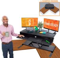 """Flexpro Power 40 Inch Electric Corner Desk 