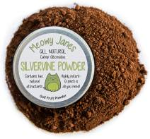 Meowy Janes Silvervine Powder for Cats - 35 Grams - All Natural Catnip Alternative